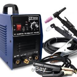 120A 220V 3 in 1 TIG MMA CUT Welder Inverter Welding Machine Plasma Cutter