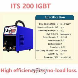 200A TIG/MMA IGBT Welding machine & 220V tig welder & mma welder & Accessories