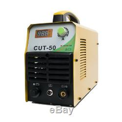 230V Plasma Cutter 50A Inverter 12mm CUT Air Plazma Metal Cutting Machine Torch