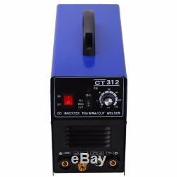 3 in 1 TIG/MMA/CUT Plasma Cutter Welder Welding Machine DC Interver Cut Up 10mm