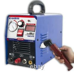 50A CUT-50 Inverter Digital Air Plasma Cutter Machine 110/220V Dual Voltage