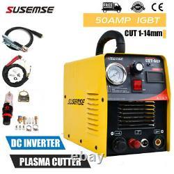 50A Plasma Cutters Pilot Arc 220V Inverter Plasma Cutting Machine & Accessories