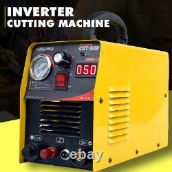 50Amp Pilot ARC Plasma Cutter DC Inverter Air Cutting Machine 230V & Accessorie
