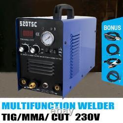 520TSC Multifunction Plasam Cutter Welder Machine TIG/MMA/CUT DC 230V