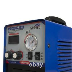 520TSC Plasma Cutter CUT TIG MMA 3 In 1 Welder Machine 12mm & Helmet DC Inverter