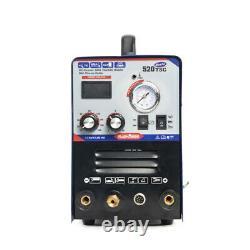 520TSC Plasma Cutter TIG/MMA Welder 3in1 Welding Machine 110V/220V & Foot Pedal