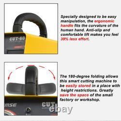 60A CUT-60 Inverter DIGITAL Air Plasma Cutter machine 110/220V AG60 Torch