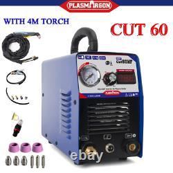60A IGBT AIR PLASMA CUTTER & AG60 4M TORCH & Digital Plasma Cutting Machine