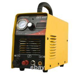 60Amp CUT60 Pro Inverter DIGITAL Air Plasma Cutter machine 110/220V