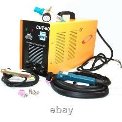 60 Amp Plasma Cutter 23mm Air Cut Machine CUT60 220V Digital Inverter DC withTorch