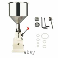 A03 5-50ml Manual liquid Paste Cream Oil Filling Machine 0.17-1.7oz Filler