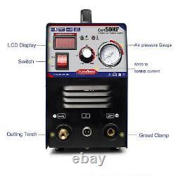 Air Plasma Cutter Cutting Machine CUT 50 DC Inverter HF Strart 1-12MM FROM UK