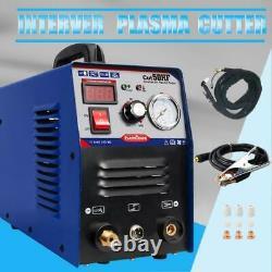 Air Plasma Cutter Machine 50Amp Dual Voltage Inverter DC Cutting1-12mm Metal DIY