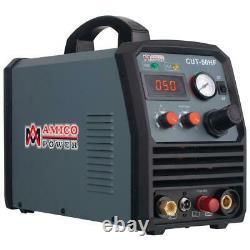 Arc Plasma Cutter Machine Non-Touch Pilot 50-Amp 260-Volt Electric Alloy Steel