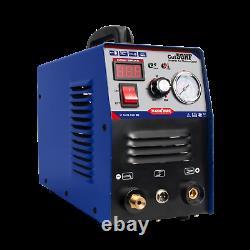 Blue CUT50 Portable Plasma Cutting Machine HF Air Cut 14mm 50A 240V+Consumables