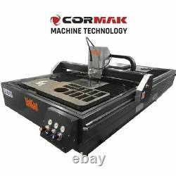 CORMAK 3000x1500 118 x 59 VolCut Plasma And Gas Cutter Cutting Table Machine