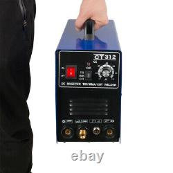 CT312 3 in 1 TIG MMA CUT Welder Inverter Welding Machine 120A TIG/ MMA 30A
