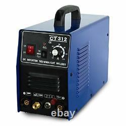 CT312 Pilot Plasma Cutter TIG/MMA Welding Machine Digital Welder Multi Functions