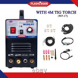 CT418 3In1 Functional Air Plasma Cutter TIG/MMA Welder Welding Machine 4m TIG