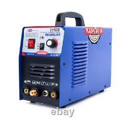 CT418 3 in 1 Plasma Cutter TIG/MMA Welding Machine Welding 1 to 8mm 110/220V+CSA
