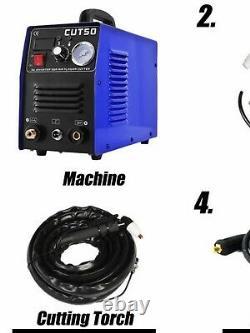 CT50 220V 50A Plasma Cutter Plasma Cutting Machine with PT31 Cutting Torch