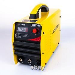 CUT50 Air Plasma Cutter Machine 50A Inverter DIGITAL Cutting 12mm Accessories