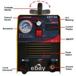 CUT50 Plasma Cutter 220V Electric Digtal Air Plasma Cutting Machine Inverter UK