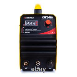 CUT50 plasma cutting machine with air compressor high frequency DC inverter and