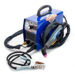 CUT60 IGBT AIR Plasma Cutter Machine & AG60 Torch & Cutting Clean Cut Portable