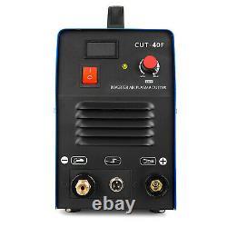 CUT-40F DC Inverter Air Plasma Cutter Cutting Machine 40A Portable & Accessories