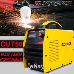 CUT-50 Air Plasma Cutter Machine 50A Inverter DIGITAL Cutting 14mm Accessories
