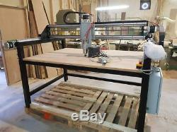 Cnc 3 axis woodwork router/plasma cutter machine 5ftx3ft
