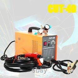 Cut 40 DC Inverter Plasma 220V 40Amp Welding Machine Welder & Regulator Gauge