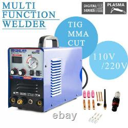 Cut & TIG & MMA Air 520TSC Plasma Cutter 3 functions in 1 Combo Welding Machine