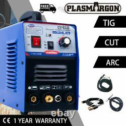 Cut & TIG & MMA Air CT418 Plasma Cutter 3 functions in 1 Combo Welding Machine