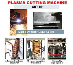 DC Inverter Digital Air Cutting Machine 220V Plasma Cutter Torches Accessories