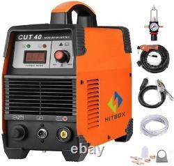 HITBOX 40 Amp Plasma Cutter Cutting Machine Cutting 12mm Aluminum Metal Cutter