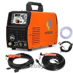 HITBOX 4IN1 CT520 Plasma Cutter 50A 200A ARC Stick Tig Welder Welding Machine