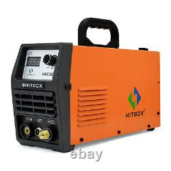 HITBOX 50A Plasma Cutter 220V DC Inverter Air IGBT Cutting Machine 12mm Cut