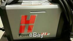 HYPERTHERM 088116 POWERMAX 45XP PLASMA MACHINE SYSTEM 25' TORCH With REMOTE
