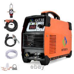 Hitbox 50amp Air Plasma Cutter Cut-55 Inverter Igbt Pilot Arc Cutting Machine