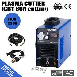 ICUT60 DC Interver IGBT Air Plasma Cutter Machine 60A Fit AG60 Torch