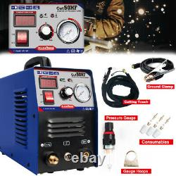 IGBT50A Plasma Cutter Machine HF Start DC Inverter 1-14mm Clean Cutting 110/220V