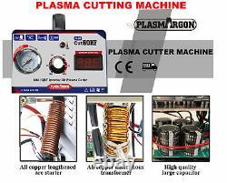 IGBT 60A Air Plasma Cutter Machine DC Inverter HF Start AG60 Torch & 30PCS Kits