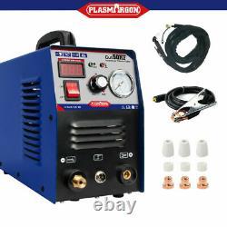 IGBT Plasma Cutting Machine Blue CUT50 HF Air Cut 14mm 50A 230V+Consumables