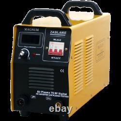MAGNUM AIR PLASMA 75C HF EURO CONNECTOR Plasma cutter machine cutting