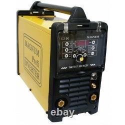 MAGNUM THF / CUT 240 AC / DC TIG inverter welder plasma cutter machine cutting