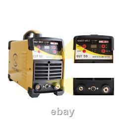 Metal Cutting Machine Air Plasma Cutter Cut 50 Mini Plasma Clean Cut To Cut All