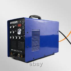 NEW ALUMINIUM Welder Machine Plasma Cutter IGBT 200A AC/DC PULSE TIG/MMA WIeding