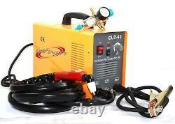 PLASMA CUTTER 40 AMP Rugged Air Inverter Cutting Machine with Torch& Regulator